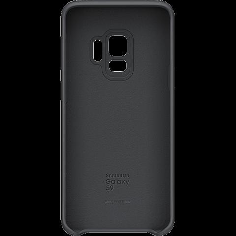 Samsung Silicone Cover Schwarz Galaxy S9 99927675 hinten