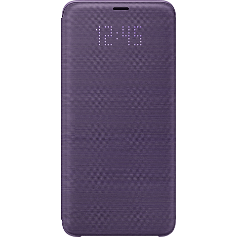 Samsung LED View Cover Lila Samsung Galaxy S9+ 99927669 vorne