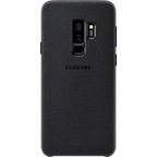 Samsung Alcantara Cover Schwarz Galaxy S9 Plus 99927677 kategorie