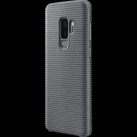 Samsung HyperKnit Cover Grau Galaxy S9 Plus 99927658 seitlich
