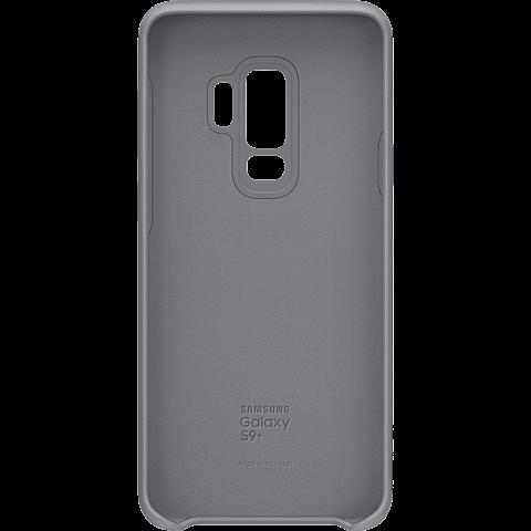 Samsung Silicone Cover Grau Galaxy S9 Plus 99927679 vorne