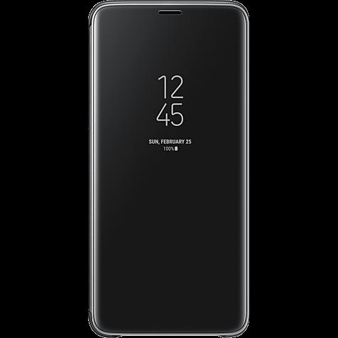 Samsung Clear View Cover Schwarz Galaxy S9+ 99927670 hero