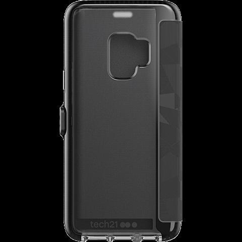 Tech21 Evo Wallet Schwarz Samsung Galaxy S9 99927645 hinten