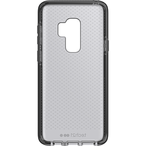 Tech21 Evo Check Hülle Smokey Black Samsung Galaxy S9+ 99927647 hinten