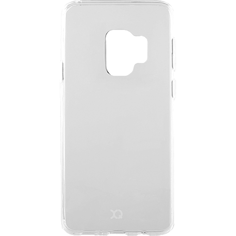 xqisit Flex Case Samsung Galaxy S9 Transparent 99927639 vorne
