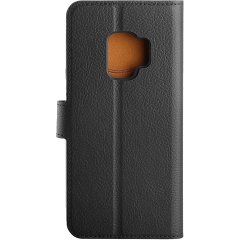 xqisit Slim Wallet Selection Samsung Galaxy S9 Schwarz 99927637 hinten