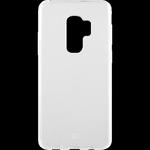 xqisit Flex Case Samsung Galaxy S9 Plus Transparent 99927640 vorne