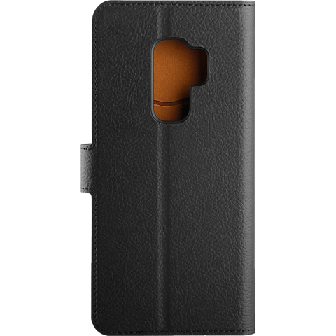xqisit Slim Wallet Selection Samsung Galaxy S9 Plus Schwarz 99927638 hinten