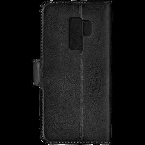 Bugatti Booklet Zurigo Samsung Galaxy S9 Plus Schwarz 99927704 hinten