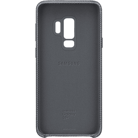 Samsung HyperKnit Cover Grau Galaxy S9 Plus 99927658 hinten