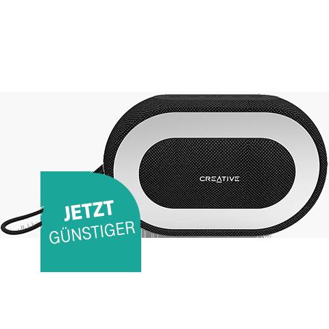 Creative HALO Bluetooth-Lautsprecher Schwarz 99927367 vorne