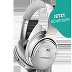 BOSE QuietComfort 35 II Wireless Kopfhörer Silber 99927495 kategorie