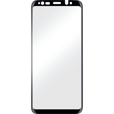 Displex Full Screen Glas Samsung Galaxy S9 Plus Schwarz 99927631 vorne