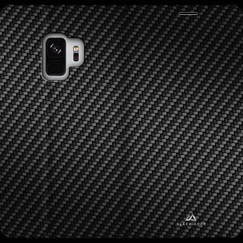 Black Rock Flex Carbon Booklet Schwarz Samsung Galaxy S9 99927622 hinten