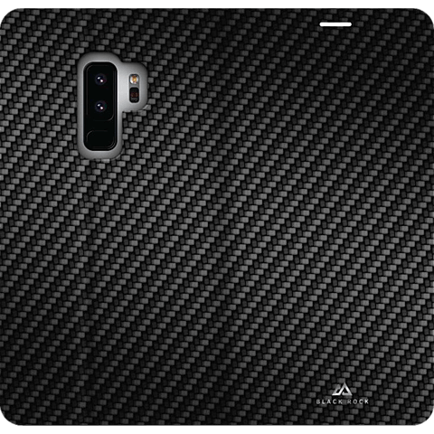 Black Rock Flex Carbon Booklet Samsung Galaxy S9+ Schwarz 99927623 hinten