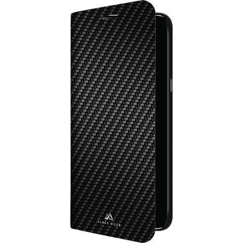 Black Rock Flex Carbon Booklet Samsung Galaxy S9+ Schwarz 99927623 vorne