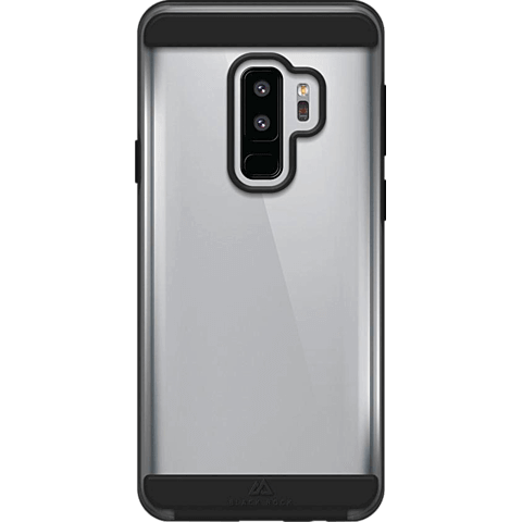 Black Rock Air Protect Cover Samsung Galaxy S9+ Schwarz 99927626 vorne