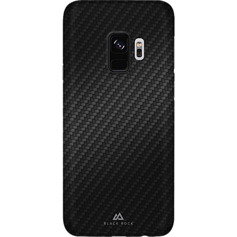 Black Rock Ultra Thin Iced Case Carbon Schwarz Samsung Galaxy S9 99927628 hero