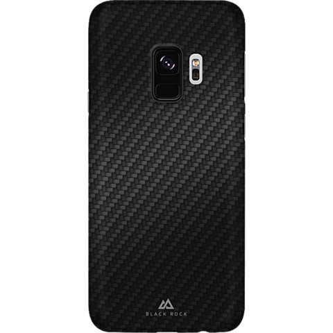 Black Rock Ultra Thin Iced Case Carbon Schwarz Samsung Galaxy S9 99927628 vorne