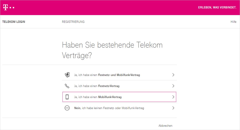 Www.Telekom.De/Kundencenter-Registrieren