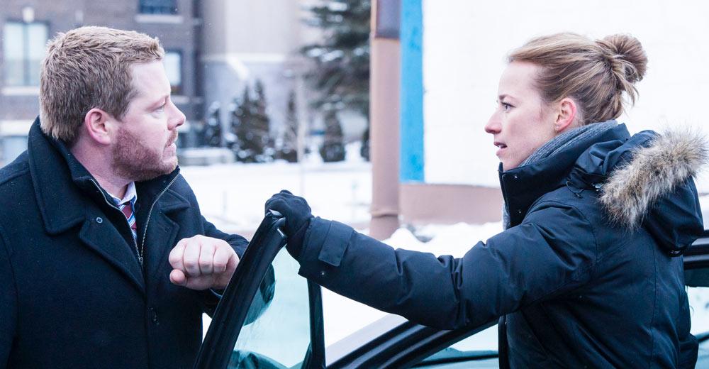 Cardinal Staffel 2: Seargent Musgrave mit der Polizistin Lise Delorme