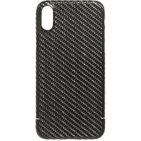 Viversis Carbon Cover Schwarz Apple iPhone X 99927726 hero