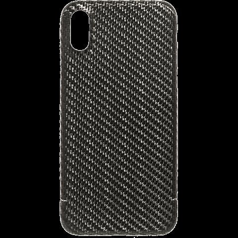 Viversis Carbon Cover Schwarz Apple iPhone X 99927726 vorne