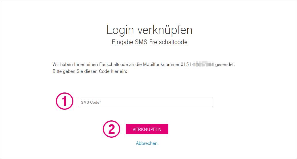 Login Registrierung Kundencenter Mobil Telekom Hilfe