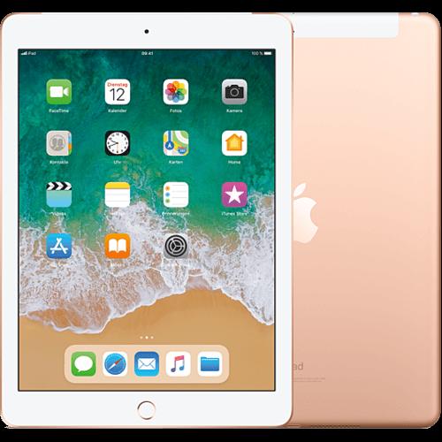 Apple iPad WiFi und Cellular Gold vorne und hinten