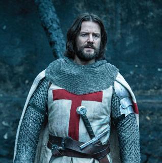 Knightfall: Pádraic Delaney als Templer Gawain