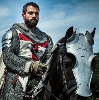 Knightfall: Tom Cullen spielt den Kreuzritter Landry