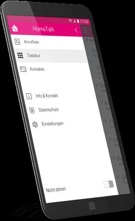 Hometalk App: Anrufer sperren