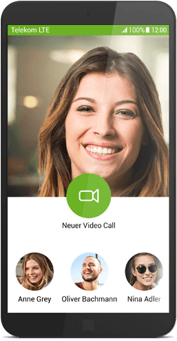 Message+ für Android: Video Call