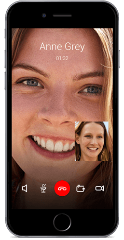 Message+ für iOS: Video Call