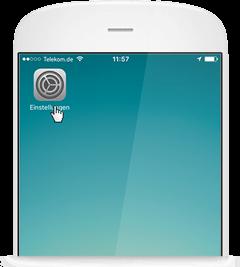 WLAN Call für iOS: Einstellungen