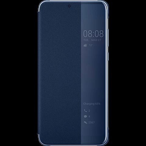 HUAWEI Smart View Flip Cover Blau P20 99927687 vorne