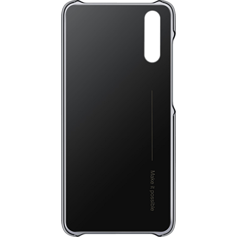 HUAWEI Color Case P20 Schwarz 99927692 hinten