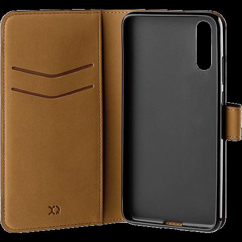 xqisit Slim Wallet Selection Schwarz Huawei P20 99927728 seitlich