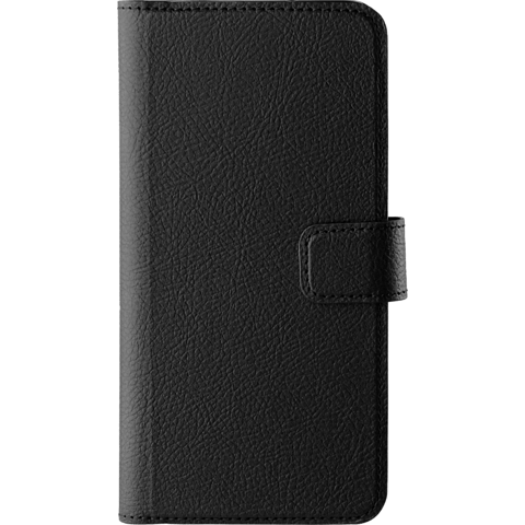 xqisit Slim Wallet Selection Schwarz Huawei P20 99927728 vorne
