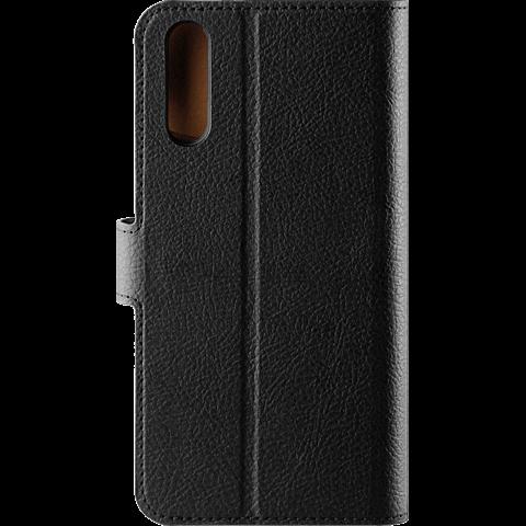 xqisit Slim Wallet Selection Schwarz Huawei P20 99927728 hinten