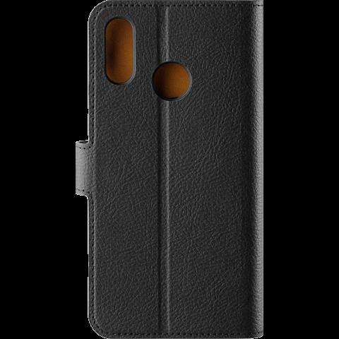 xqisit Slim Wallet Selection Schwarz Huawei P20 lite 99927729 hinten