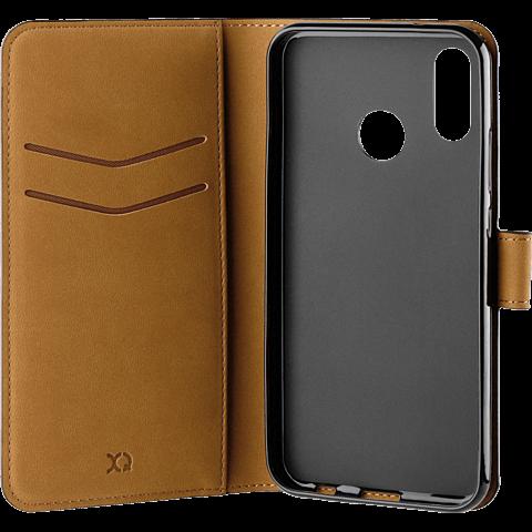xqisit Slim Wallet Selection Schwarz Huawei P20 lite 99927729 seitlich