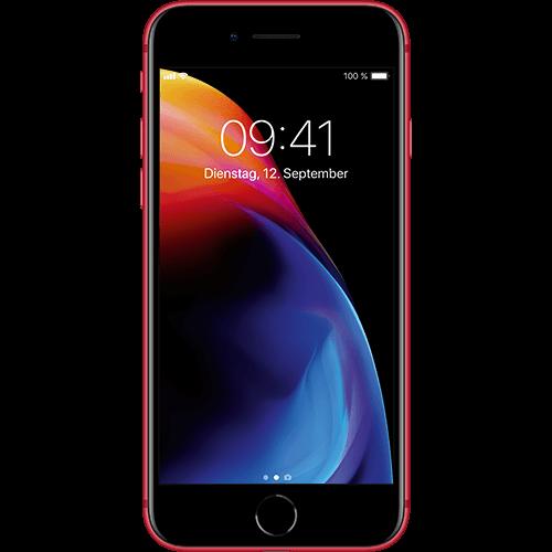 Apple iPhone 8 Rot Vorne und Hinten