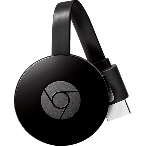 Google Chromecast (2. Generation) Schwarz 99927719 hero