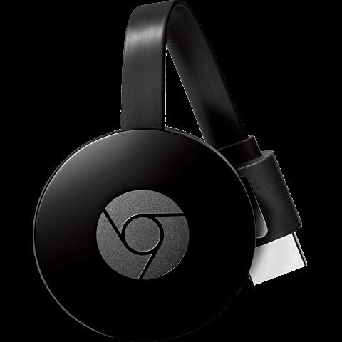 Google Chromecast (2. Generation) Schwarz 99927719 vorne