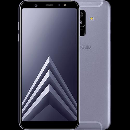 Samsung Galaxy A6+ Lila Vorne und Hinten