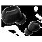 Pioneer SE-C8TW In-Ear Bluetooth-Headset Schwarz 99927880 vorne thumb