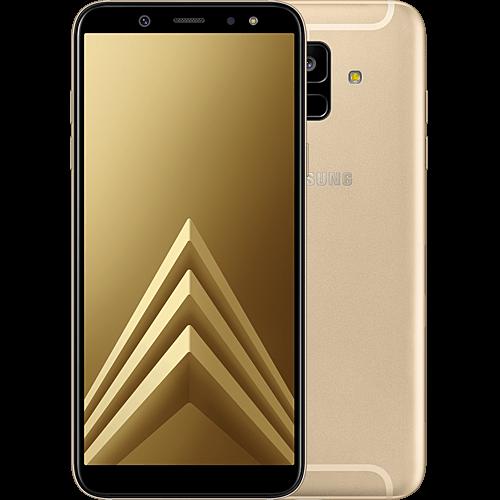 Samsung Galaxy A6 Gold Vorne und Hinten