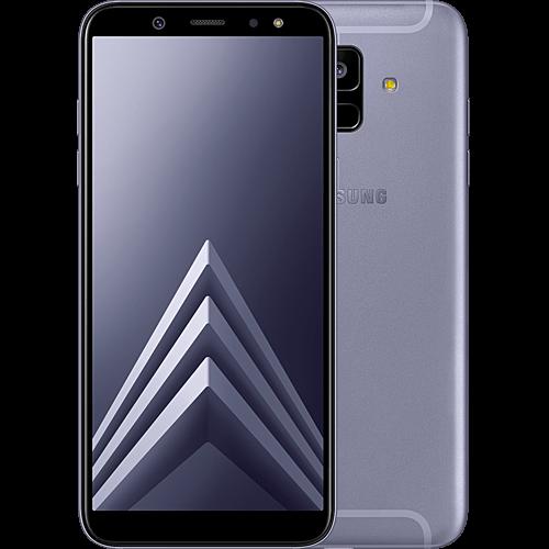 Samsung Galaxy A6 Violett Vorne und Hinten