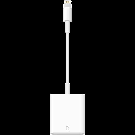 Apple Lightning auf SD Kartenlesegerät Weiß 99927861 hero